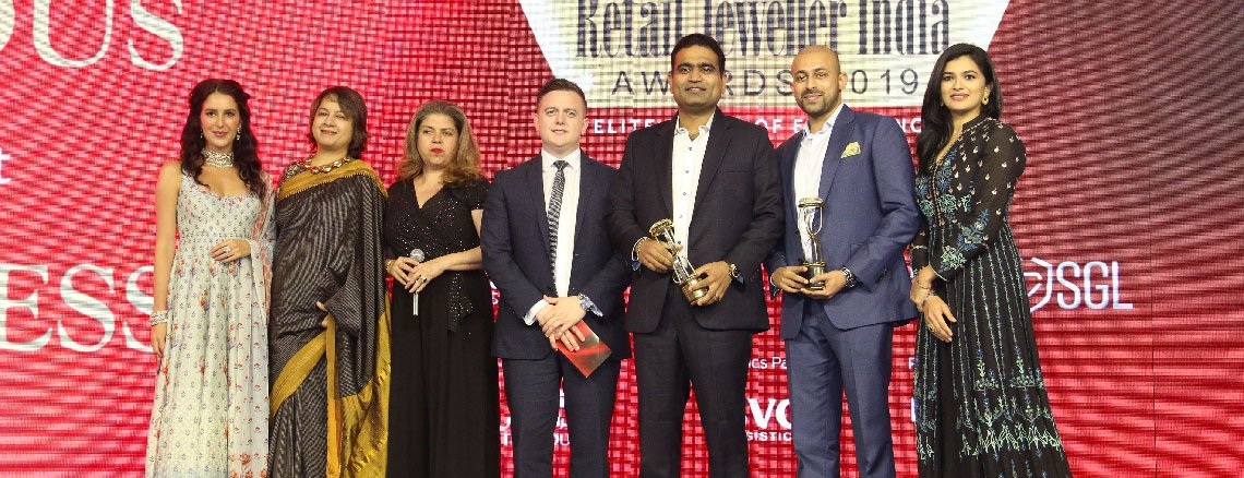 Ithra Dubai sponsors and participates in the Retail Jeweller India Awards 2019