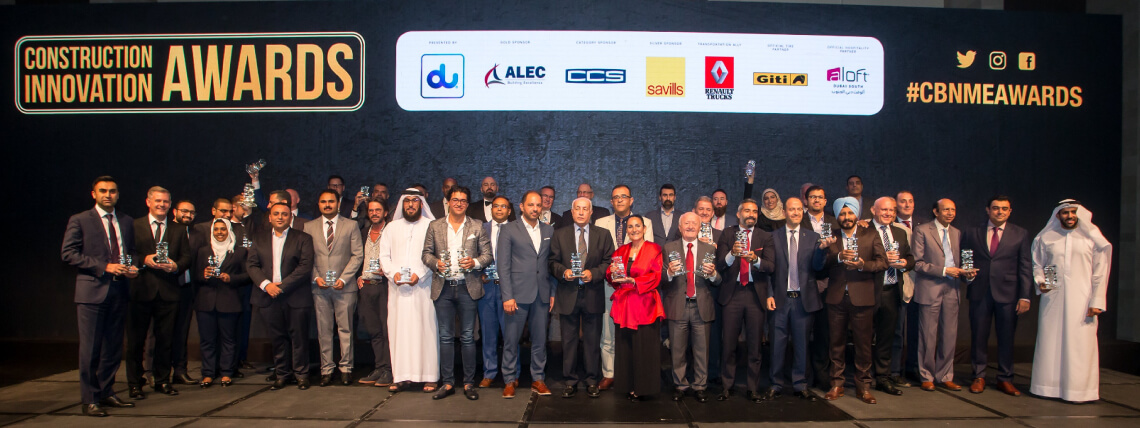 Ithra Dubai celebrates double win at prestigious Construction Innovation Awards